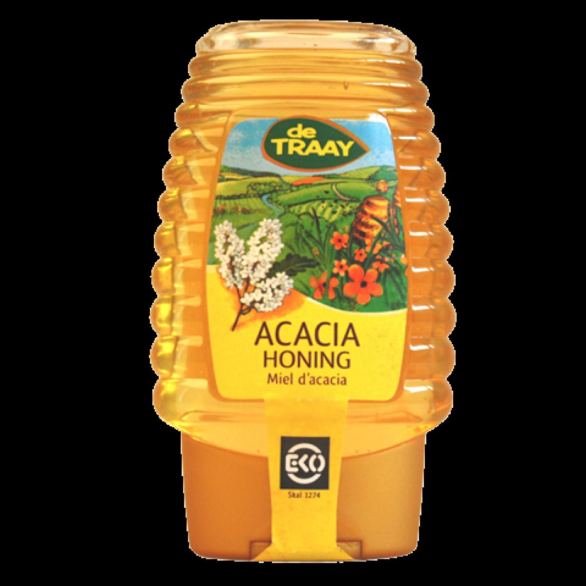 Acacia Honing Biologisch (knijpfles)