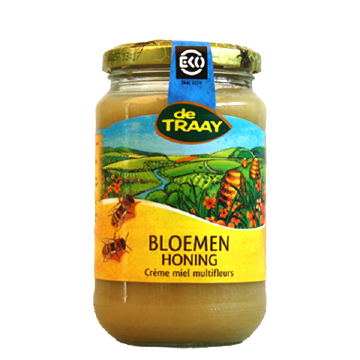Bloemen Crème Honing Biologisch 900 gram