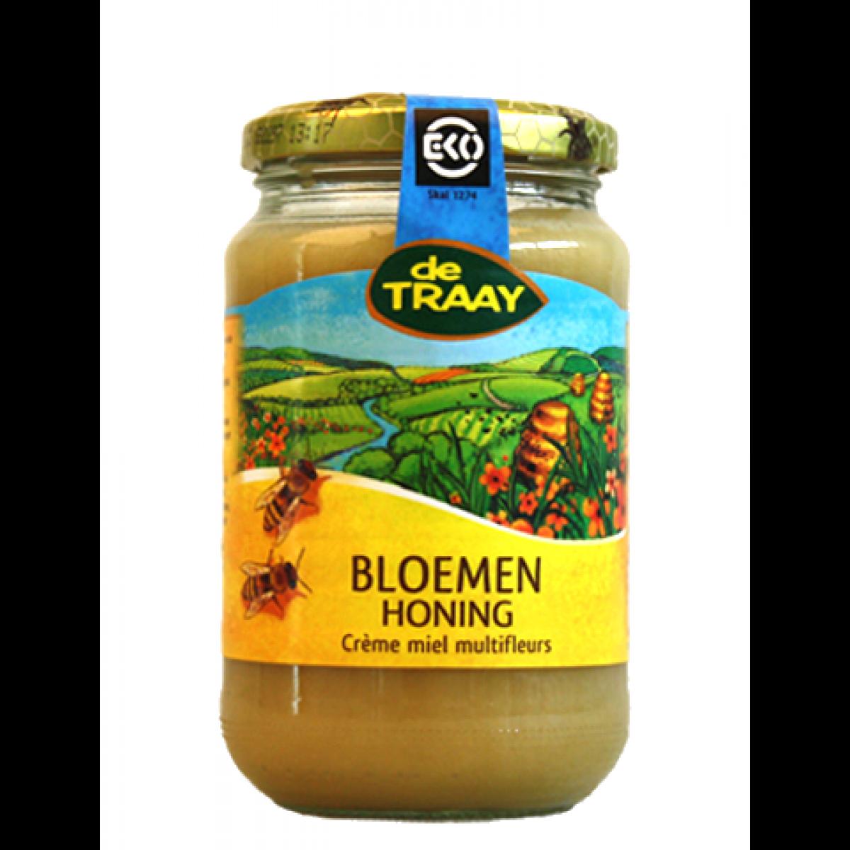 Bloemen Crème Honing Biologisch 450 gram