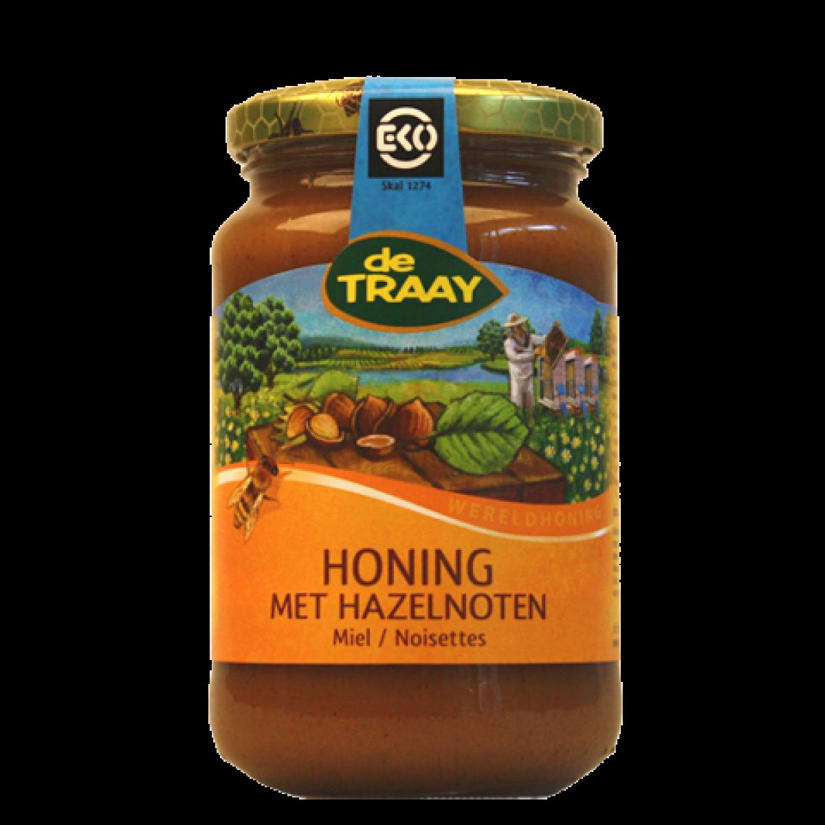 Honing Met Hazelnoten Biologisch