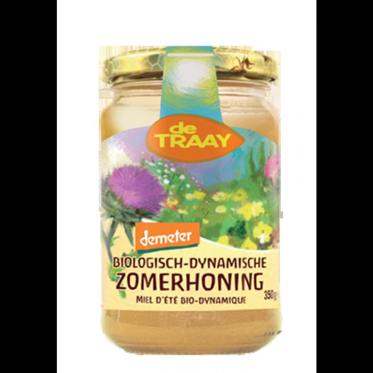 Biologische-Dynamische Bloemhoning Crème - Zomerhoning