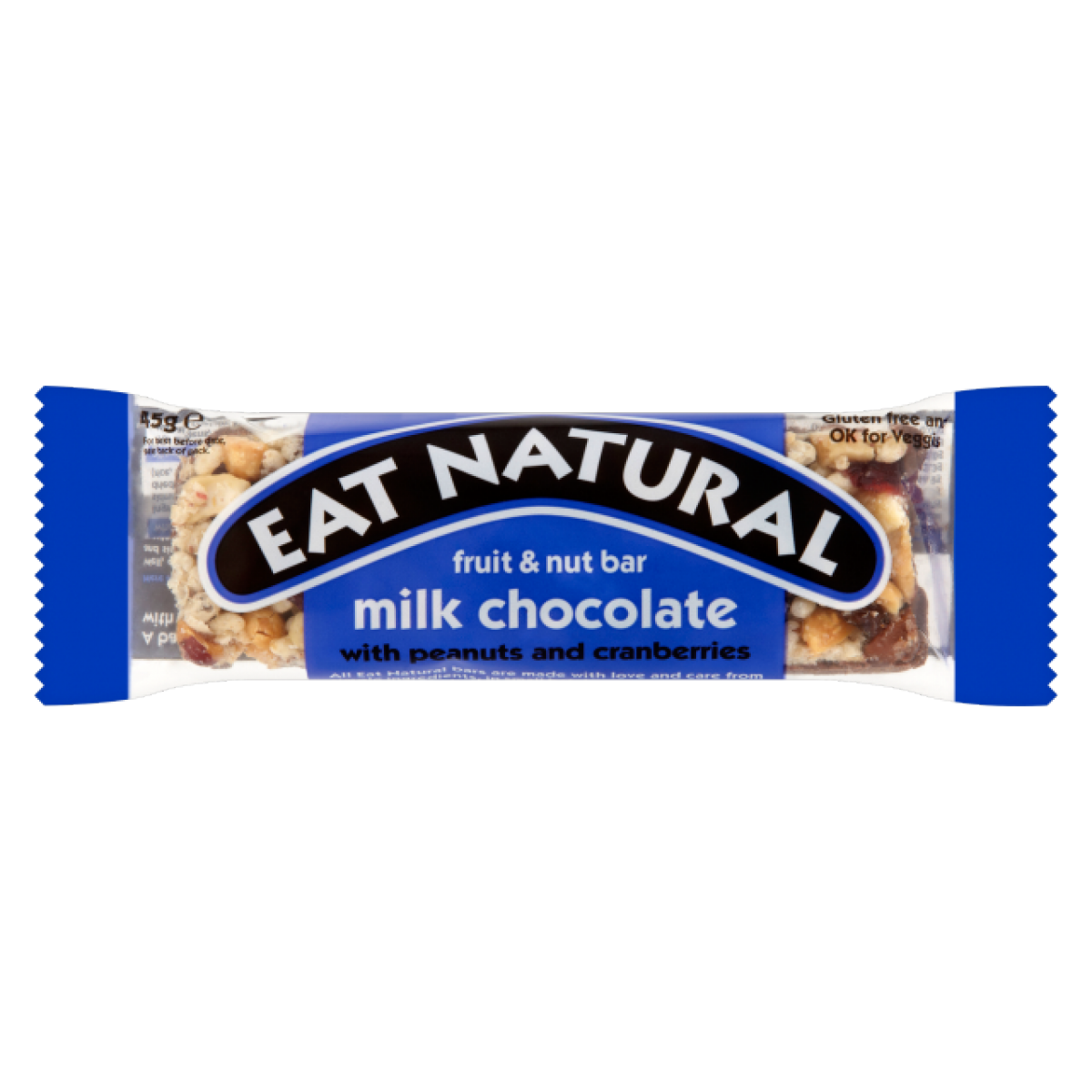 Milk Chocolate With Peanuts And Cranberries Bar