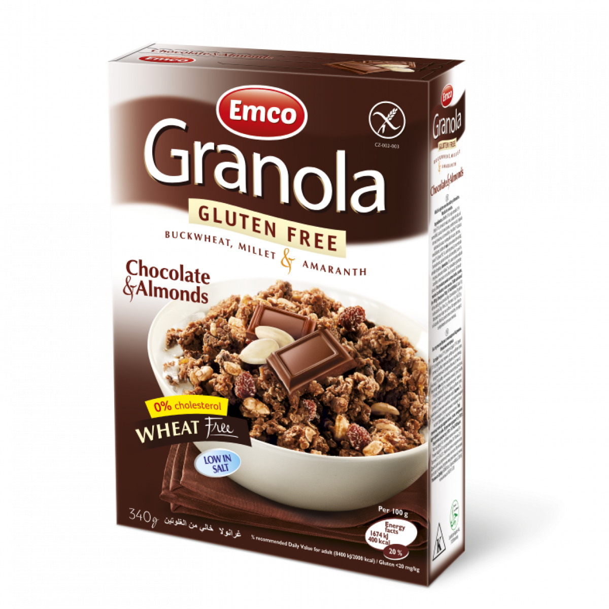 Granola Chocolate & Almonds