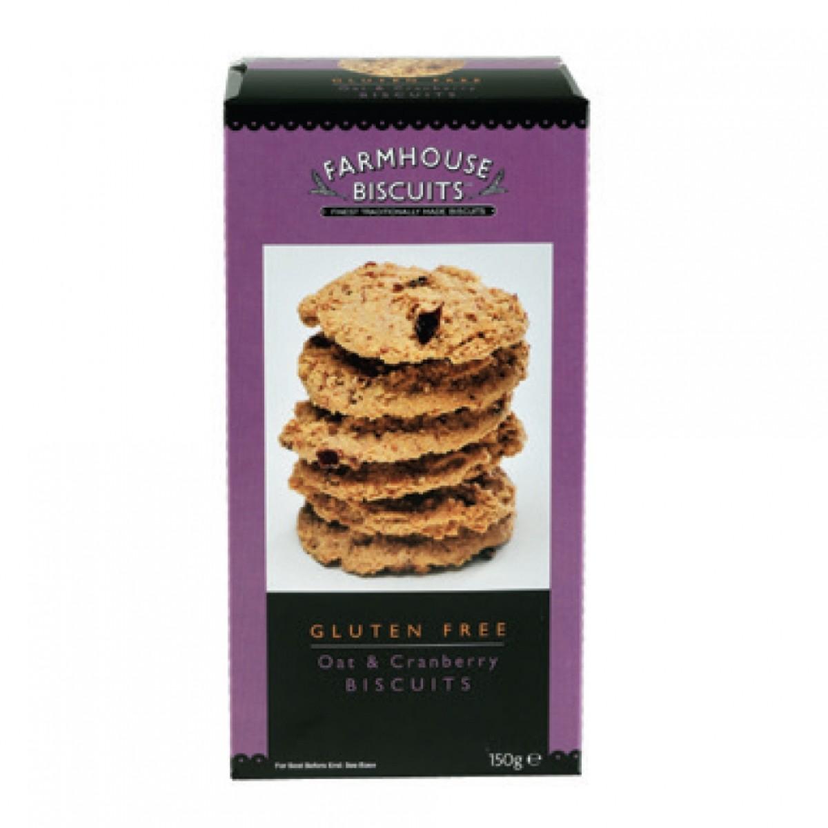 Oat Cranberry Biscuits