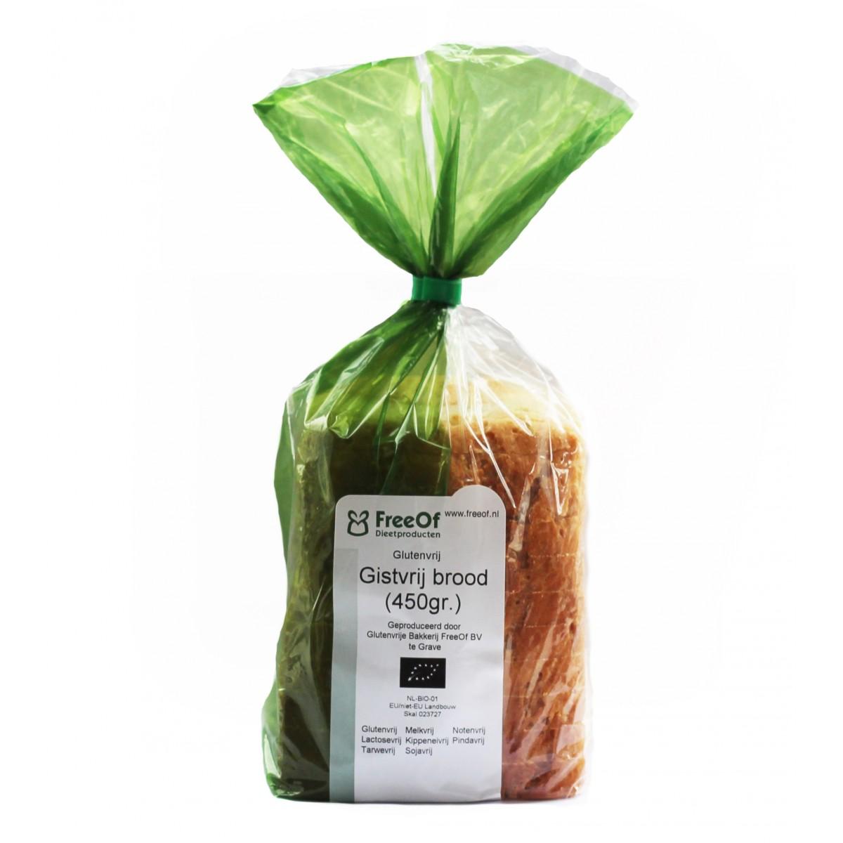 Gistvrij Brood