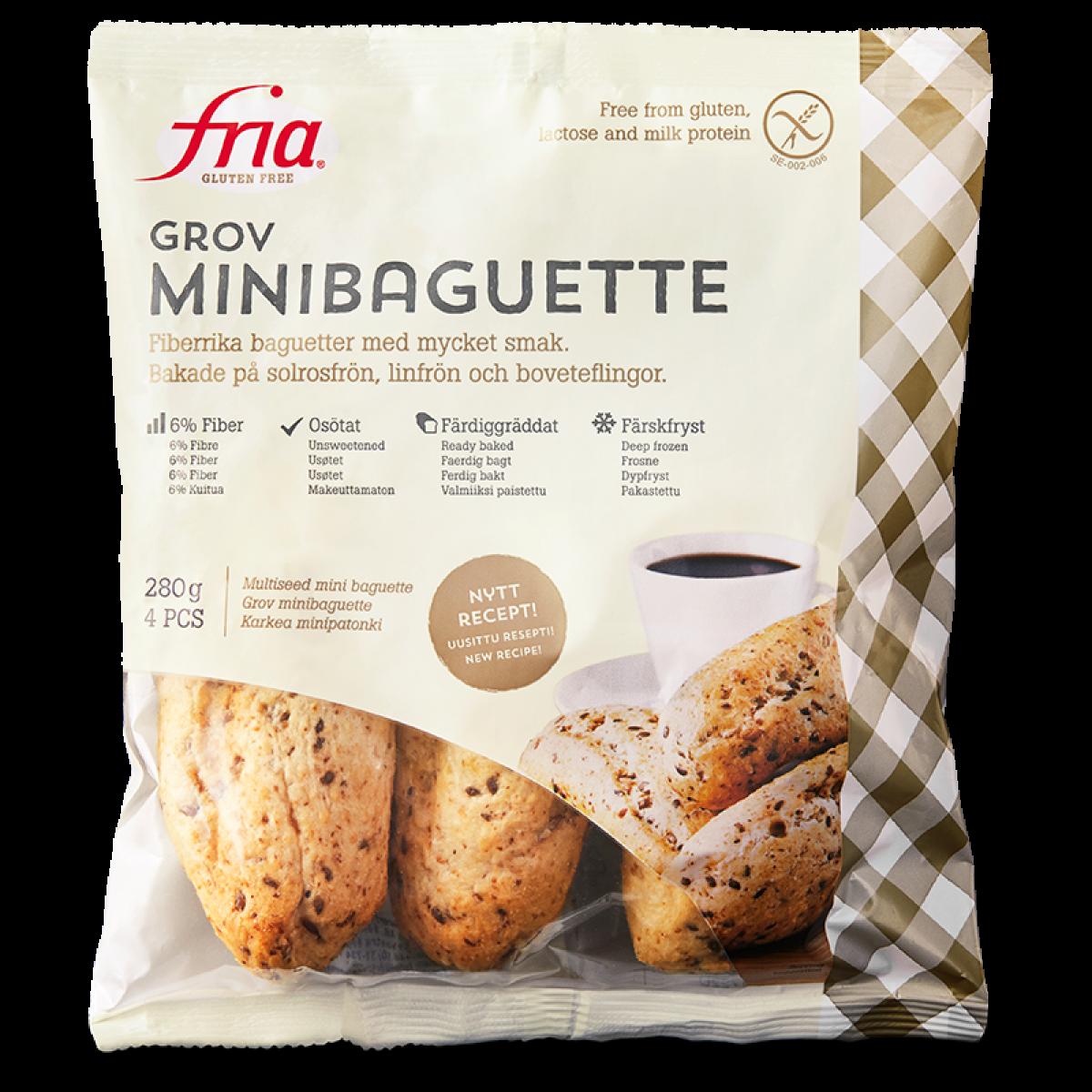 Minibaguette Vezelrijk