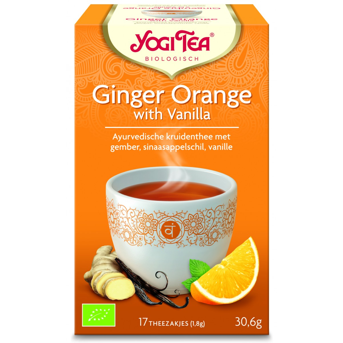 Ginger Orange With Vanilla