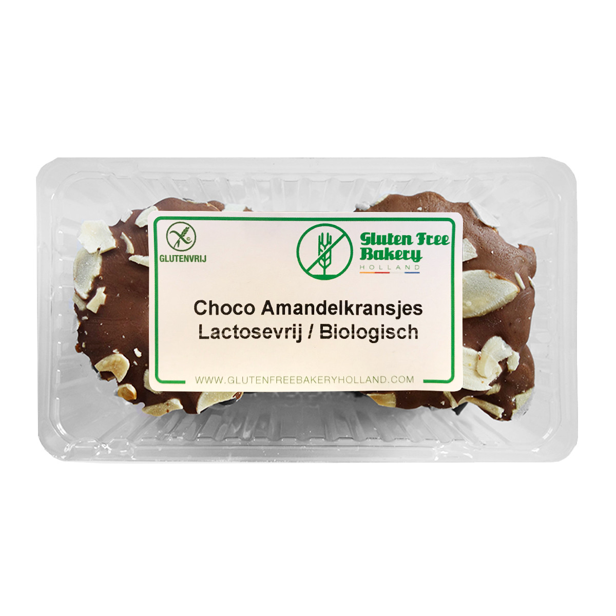 Kerstkransjes Choco Amandel Lactosevrij