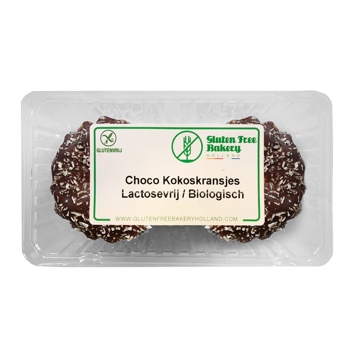 Kerstkransjes Choco Kokos Lactosevrij