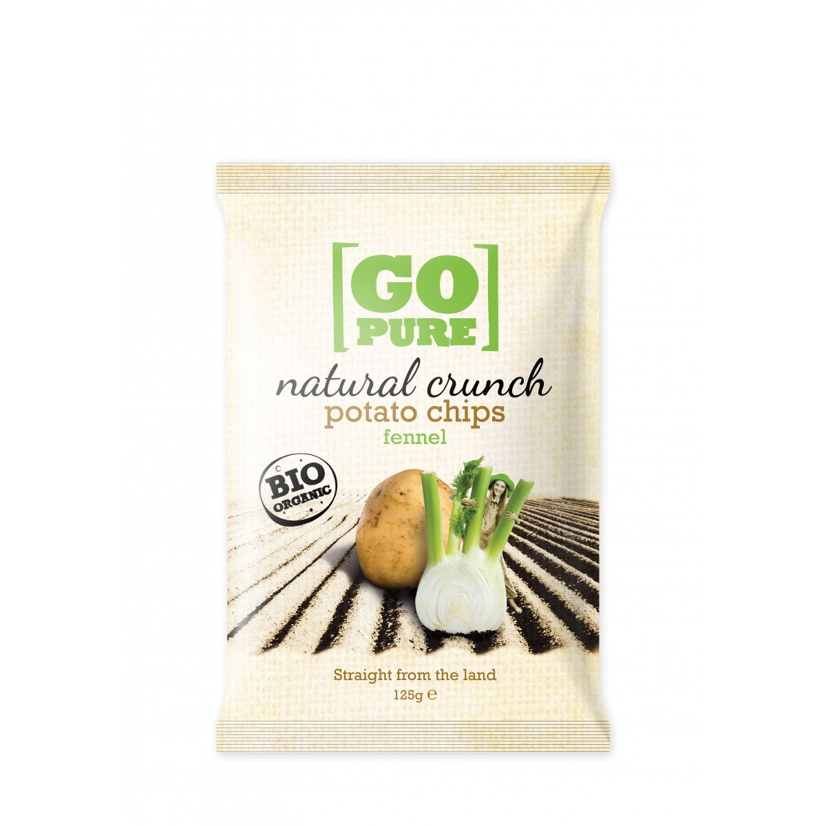 Natural Crunch Potato Chips Fennel