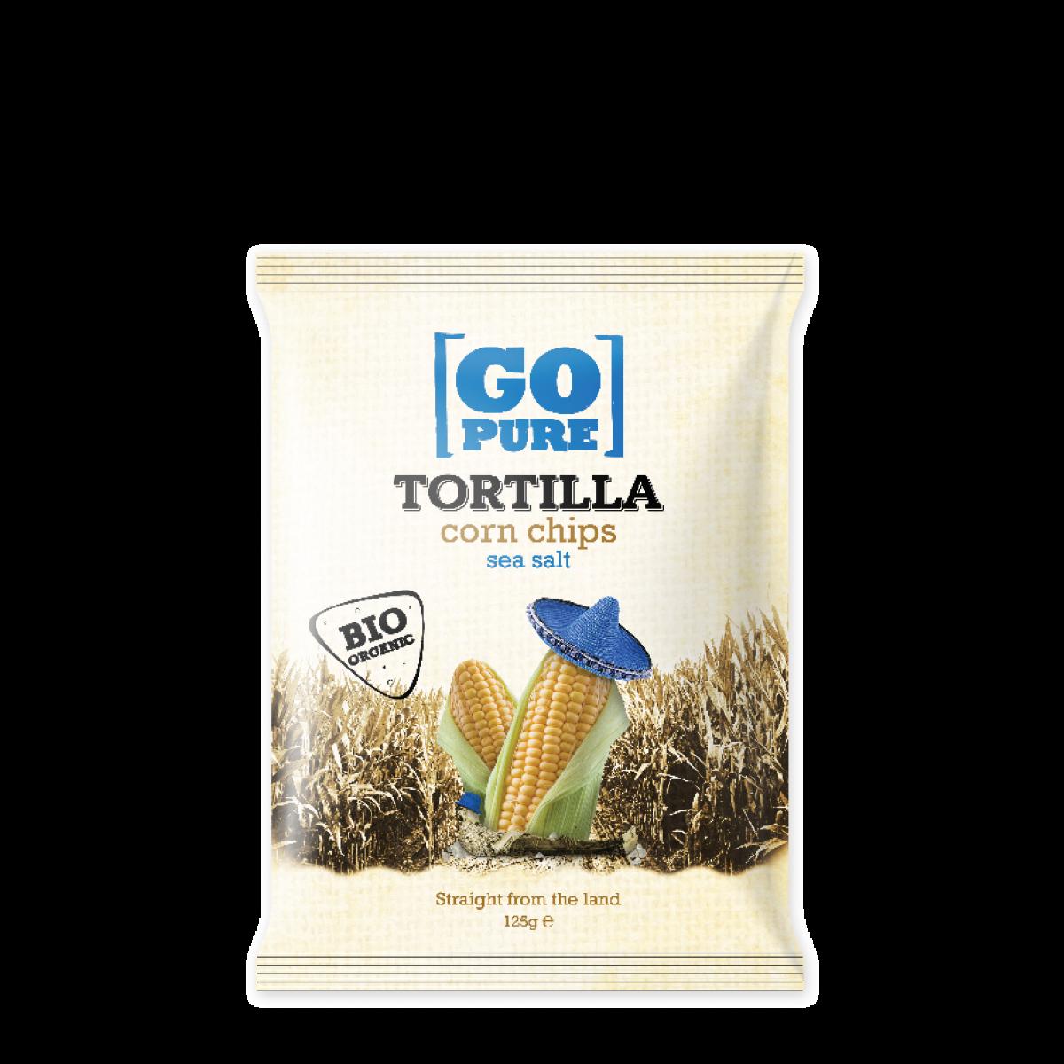 Tortilla Corn Chips Sea Salt