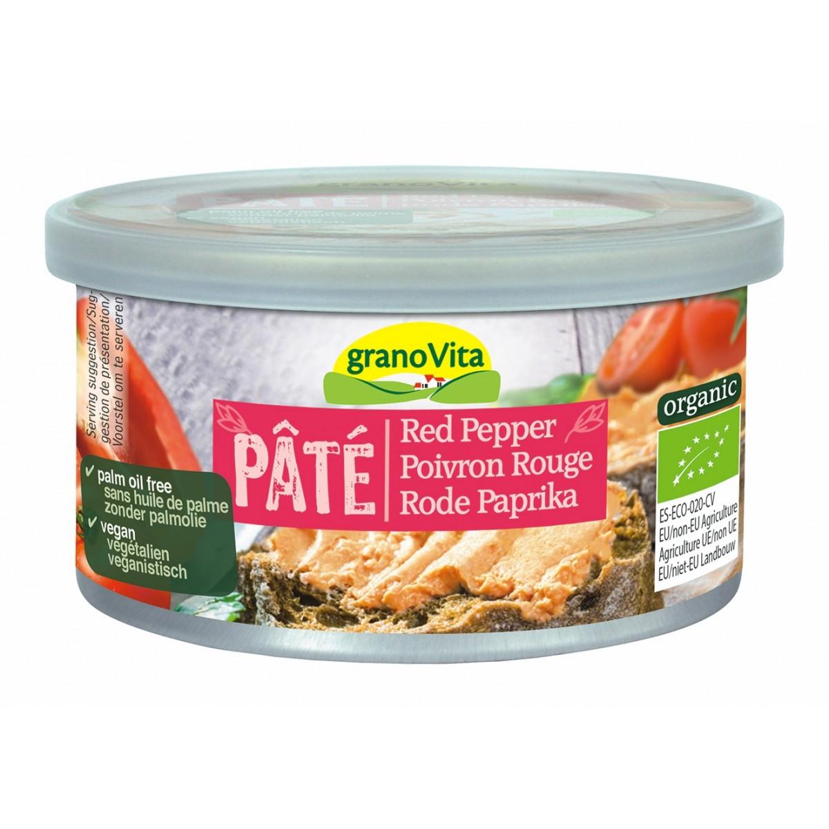 Paté Rode Paprika