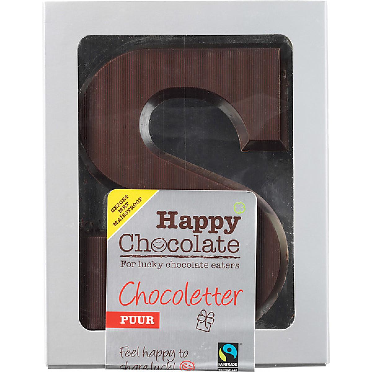 Chocoletter Puur Maisstroop Gezoet
