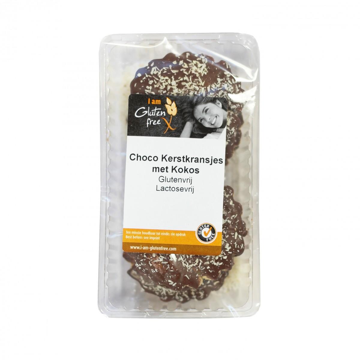 Choco Kerstkransjes Met Kokos Lactosevrij