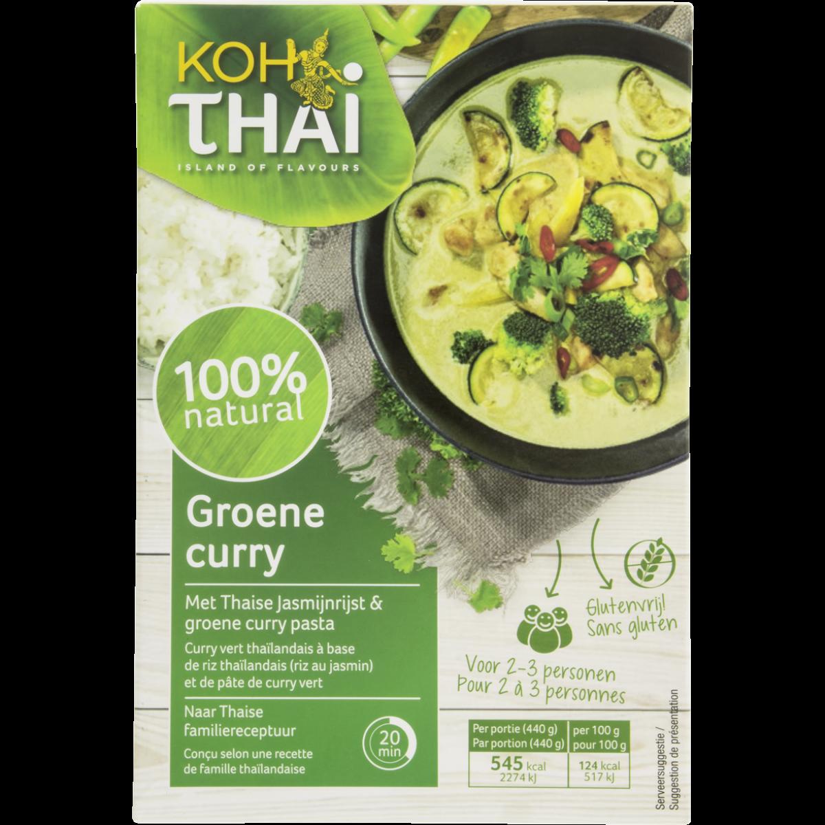 Groene Curry Maaltijdpakket