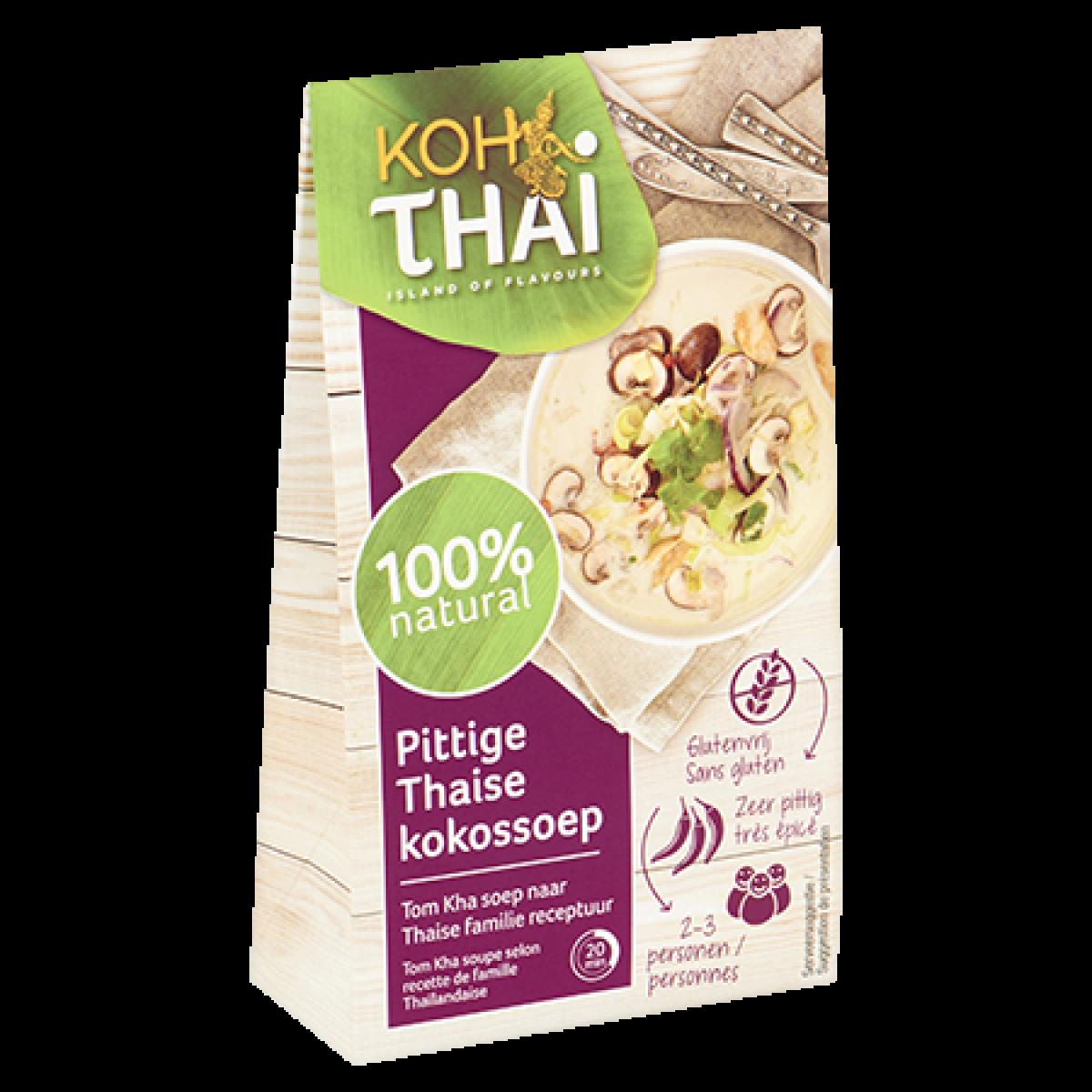 Pittige Thaise Kokossoep (Tom Kha)