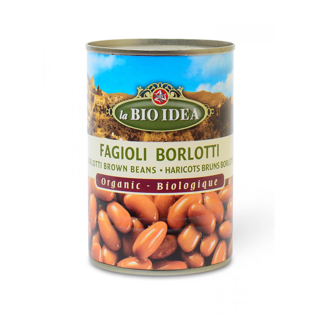 Bruine Berlotti Bonen