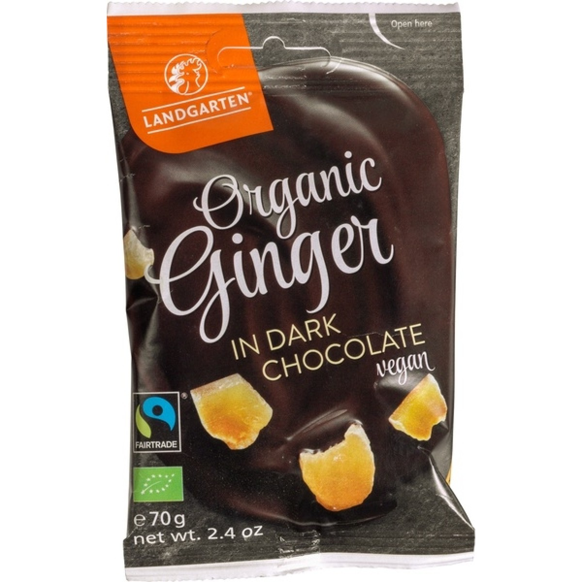 Ginger In Dark Chocolate