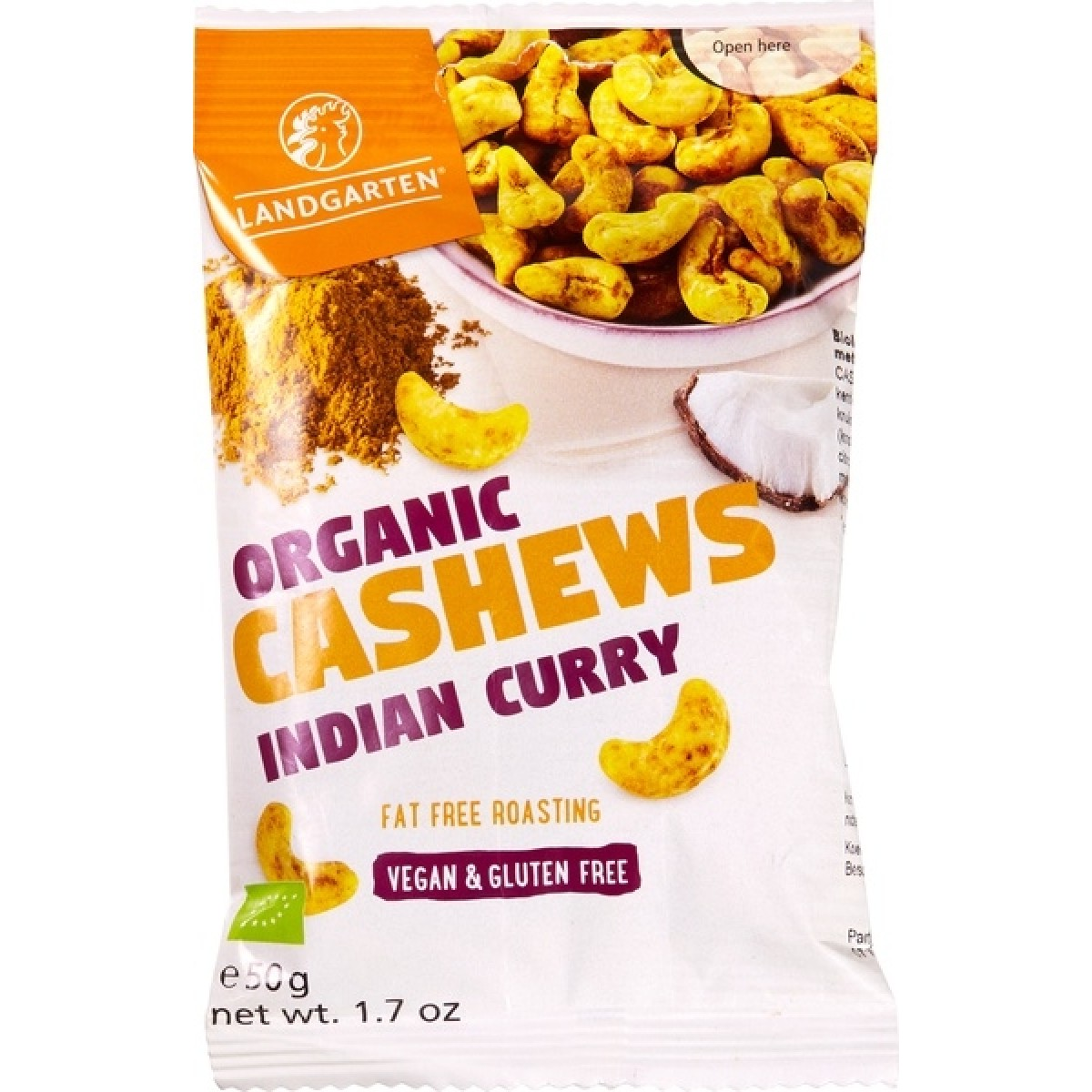 Indian Curry Cashew Snack