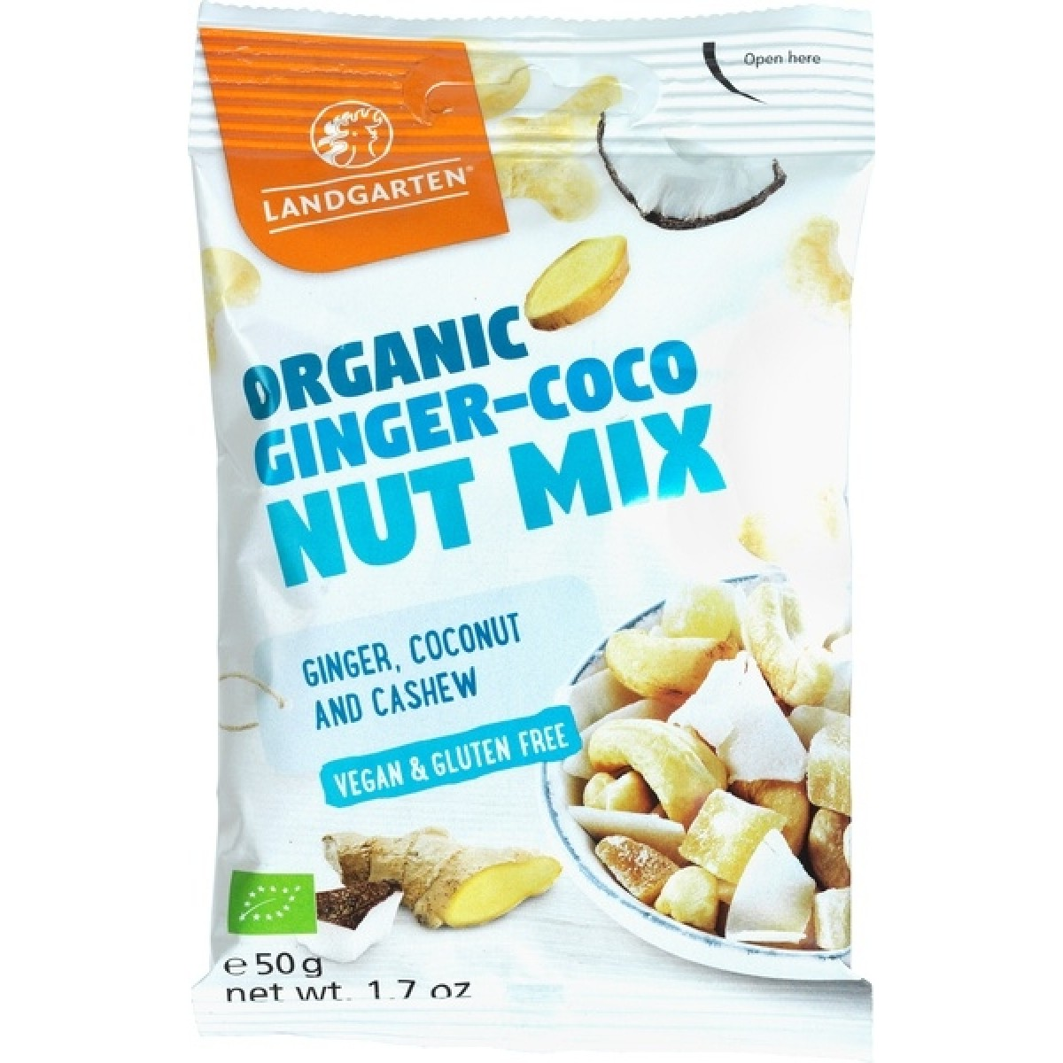 Ginger-Coconut Mix