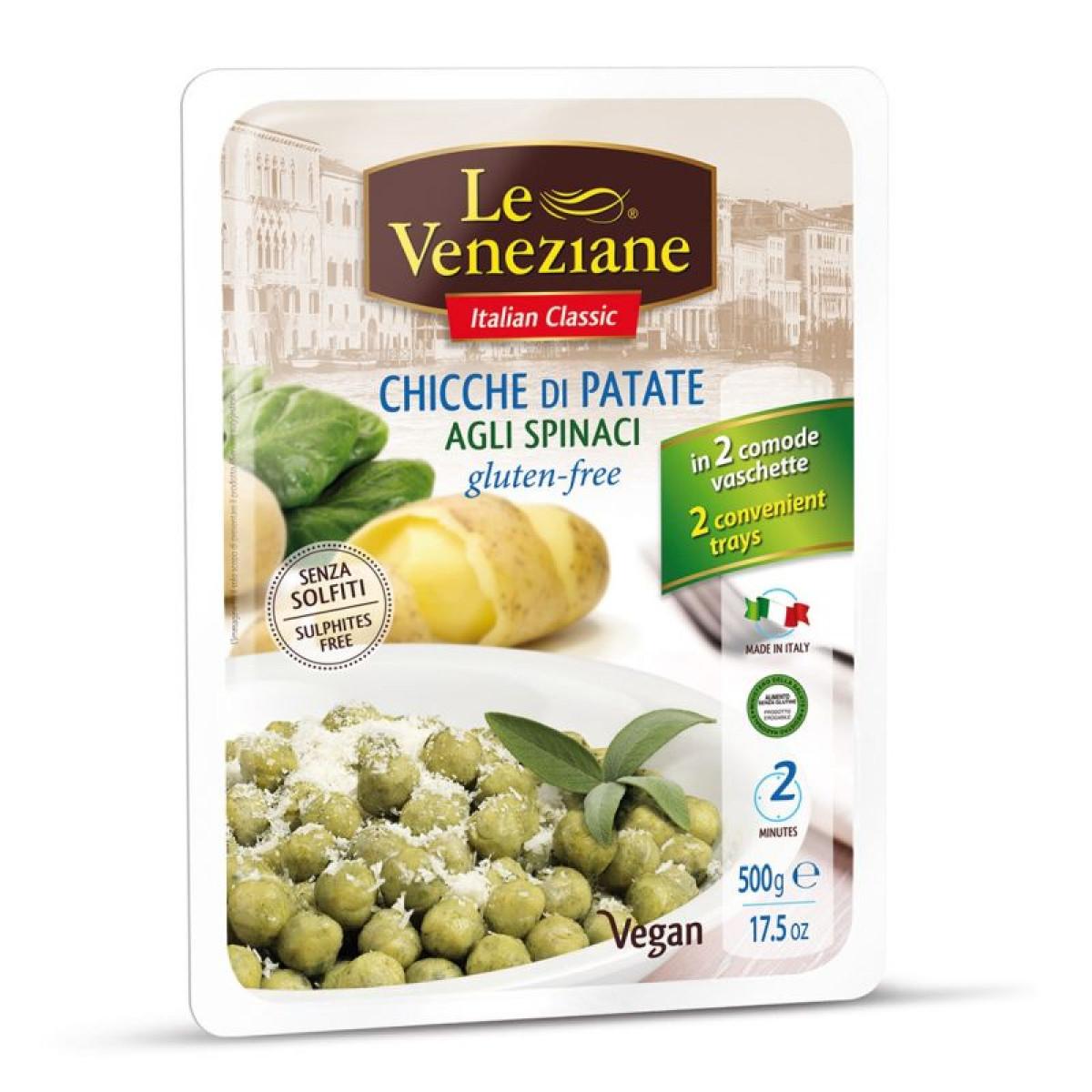 Gnocchi Potato & Spinach