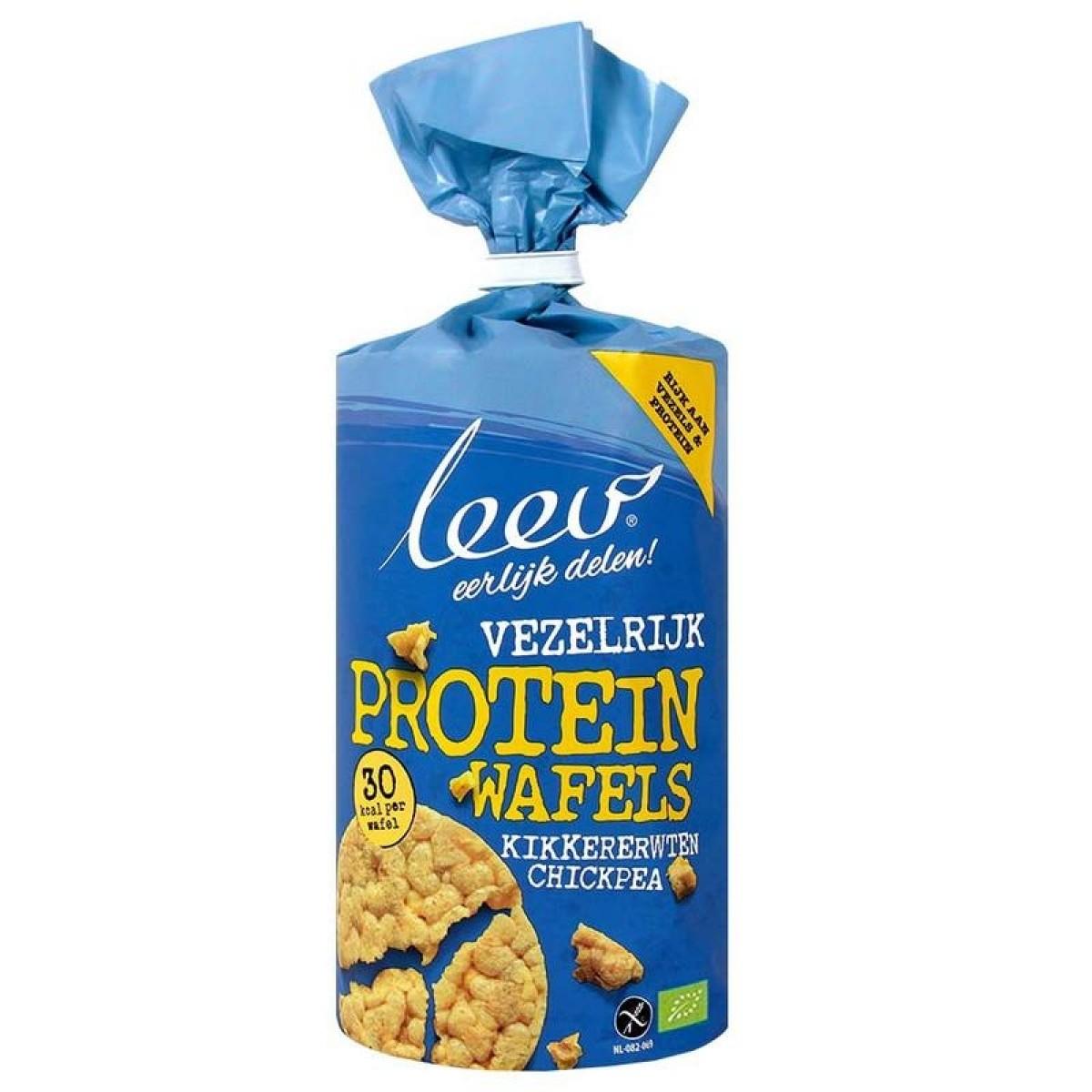 Proteïnewafels Kikkererwten Vezelrijk