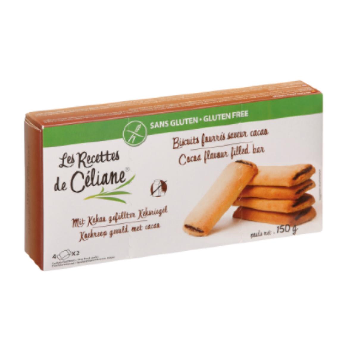 Biscuitrepen Met Cacao