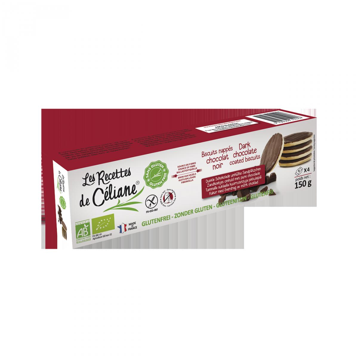 Zandkoekjes Met Pure Chocolade