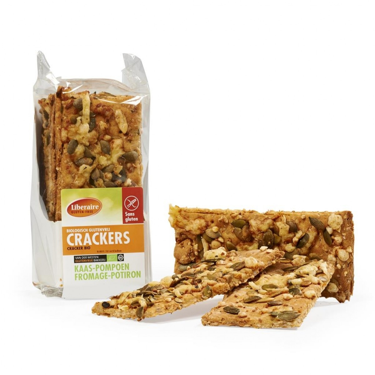 Crackers Kaas-Pompoen