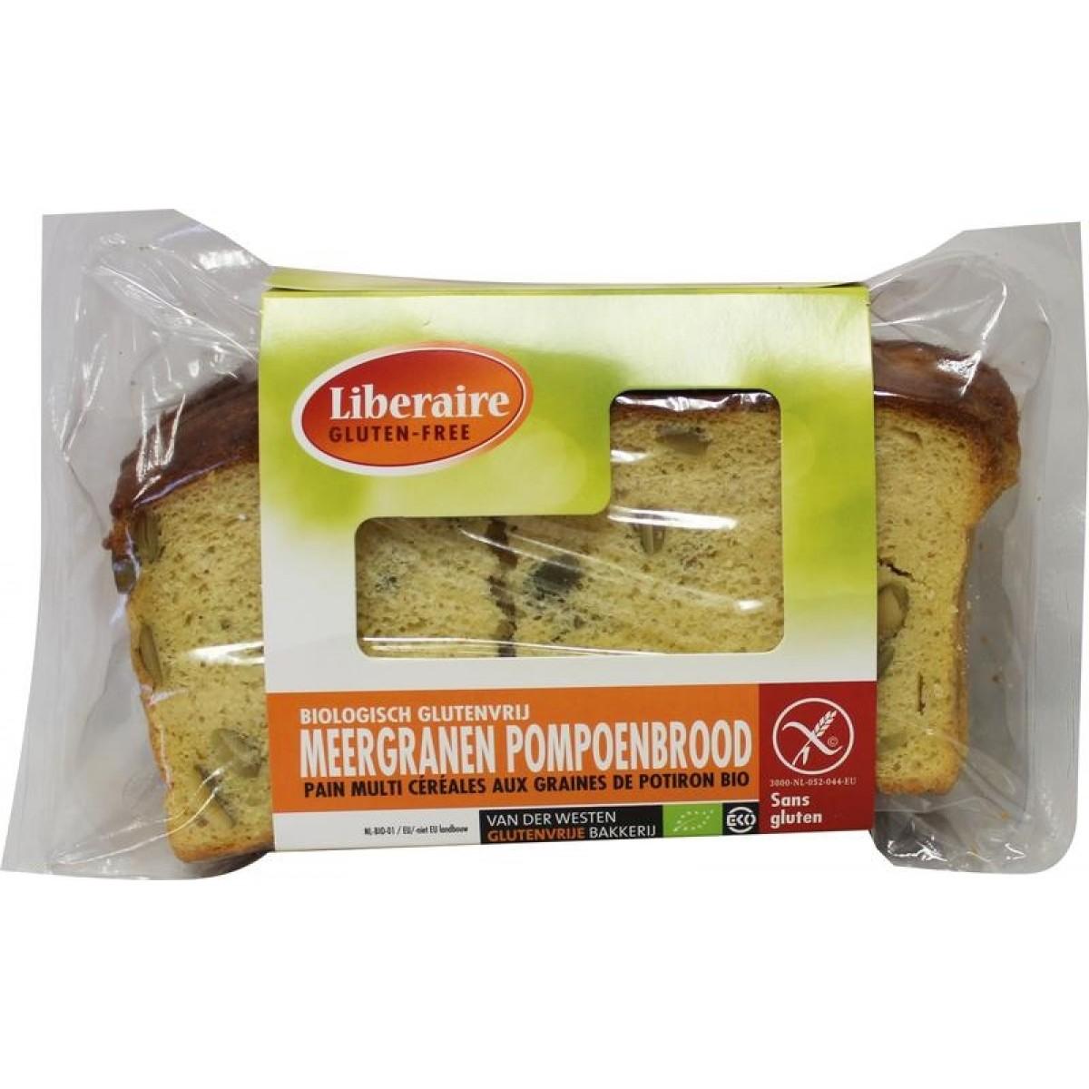 Meergranen Pompoenbrood