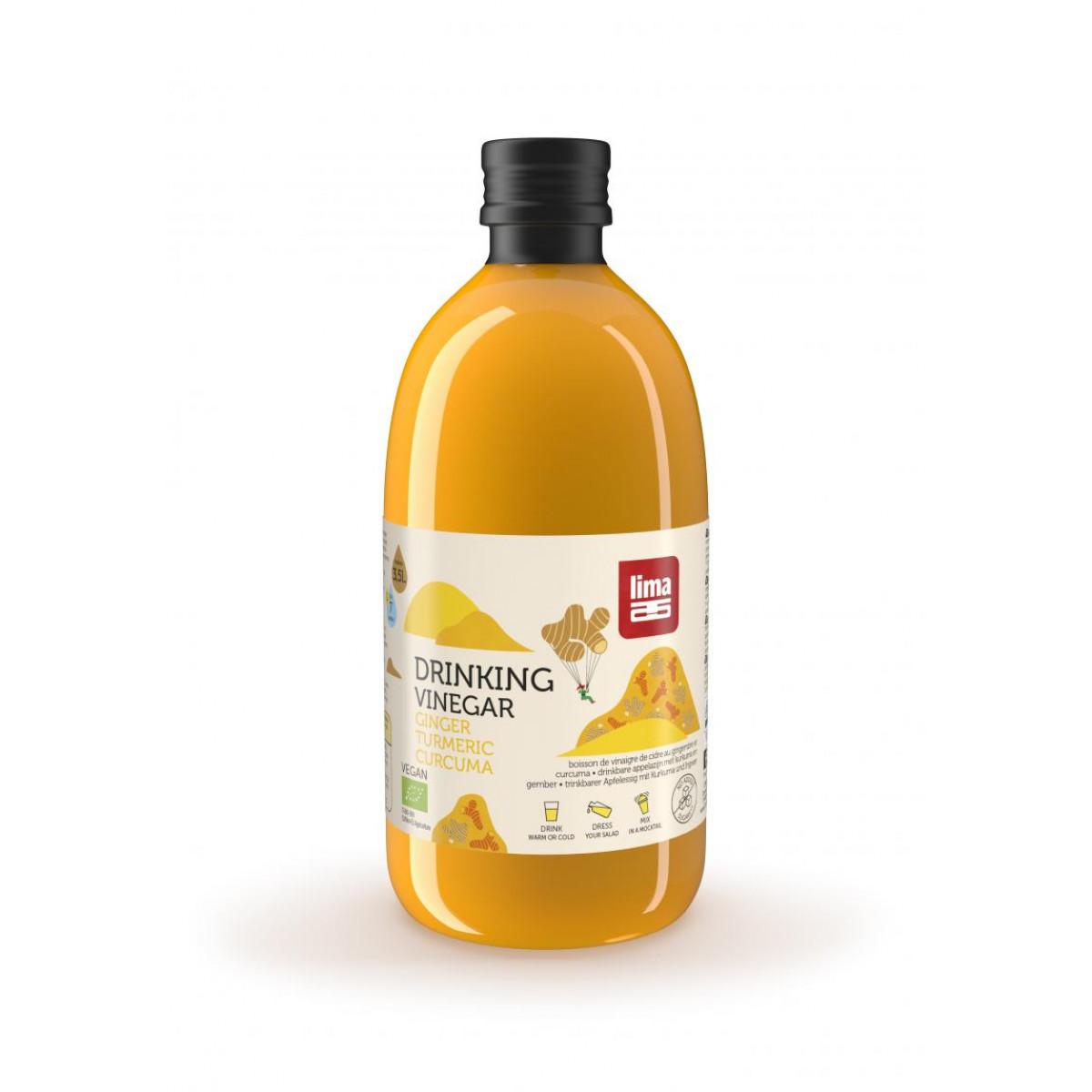 Drinking Vinegar Gember & Kurkuma