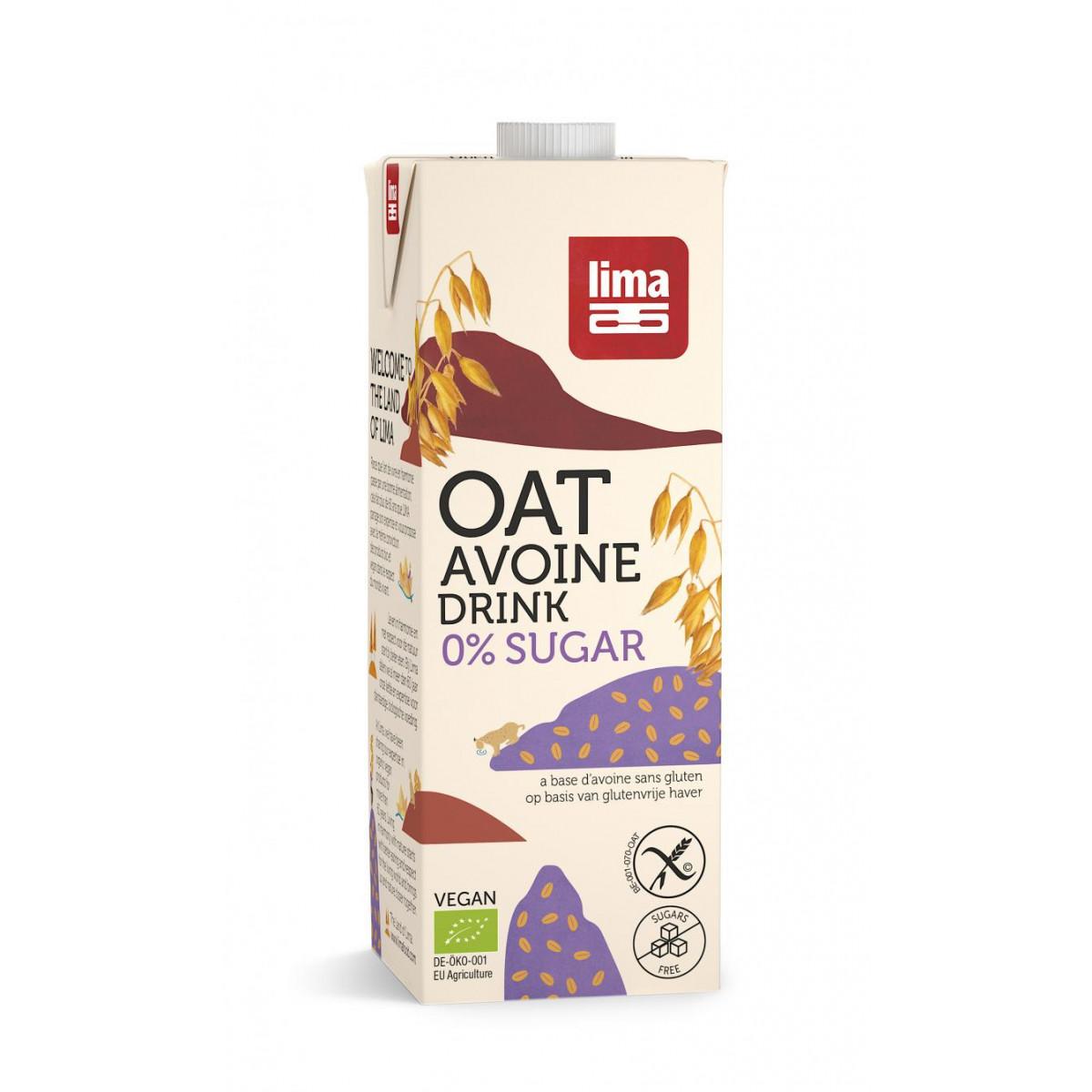 Haverdrank 0% Suiker