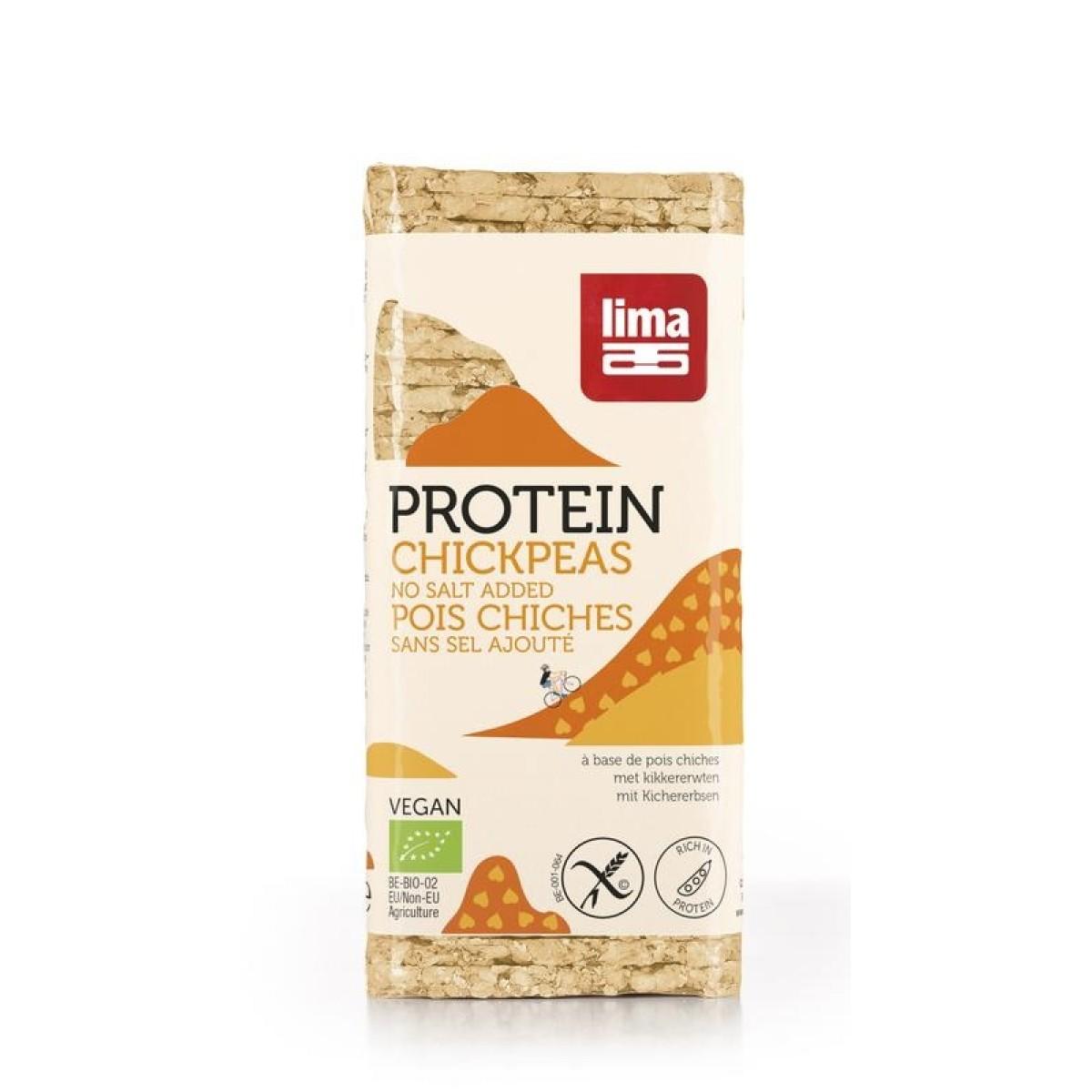 Kikkererwtenwafels Proteïne