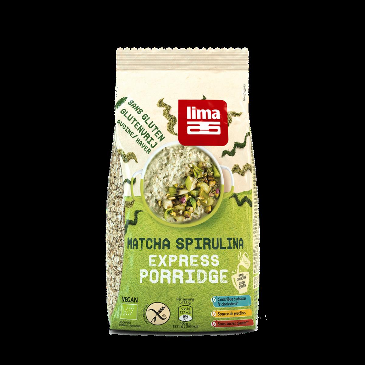 Matcha Spirulina Express Porridge
