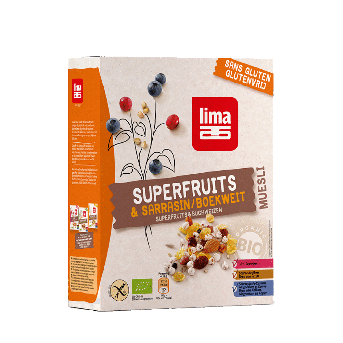 Muesli Superfruits