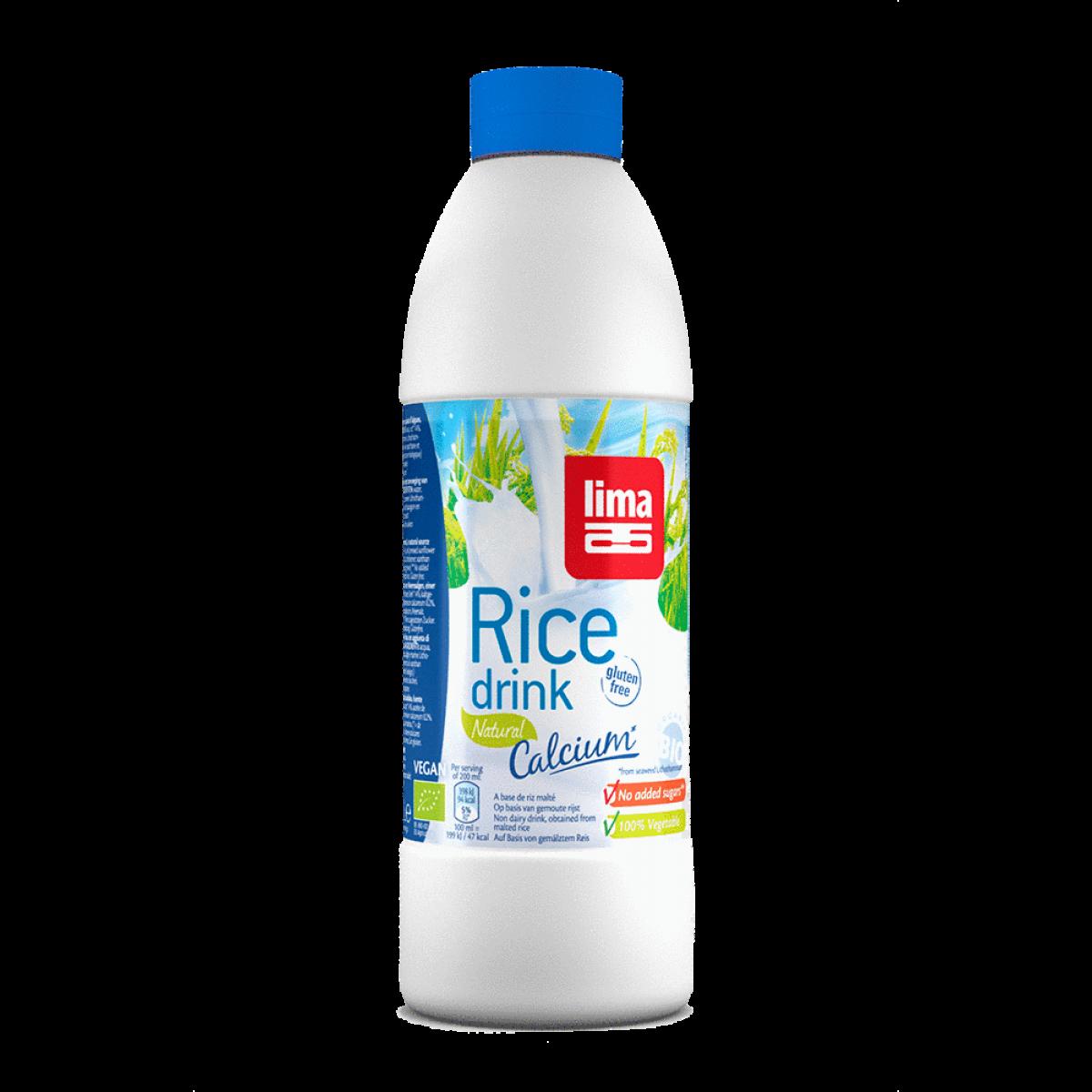 Rijstdrank Natural Calcium (Fles)