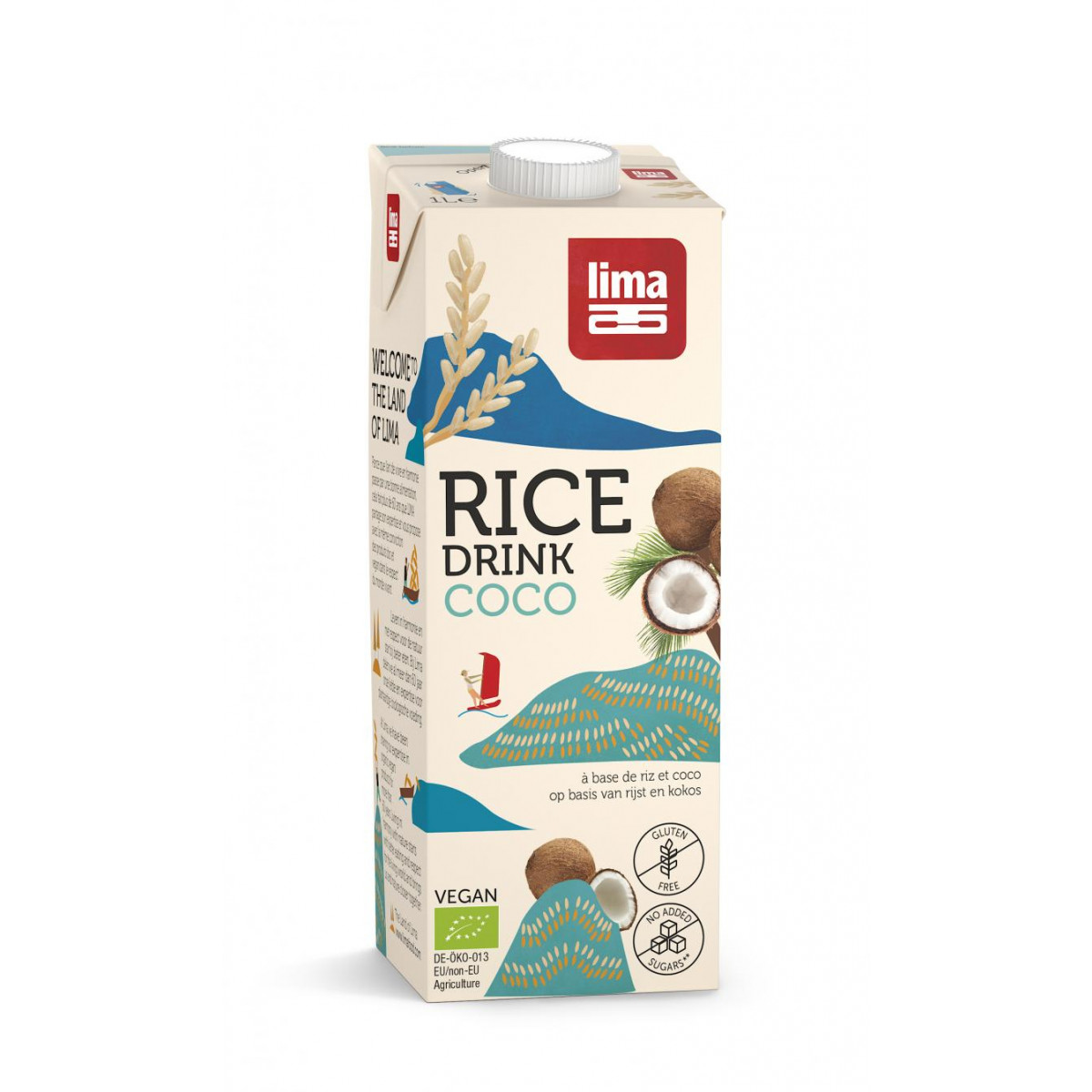 Rijstdrank Kokos