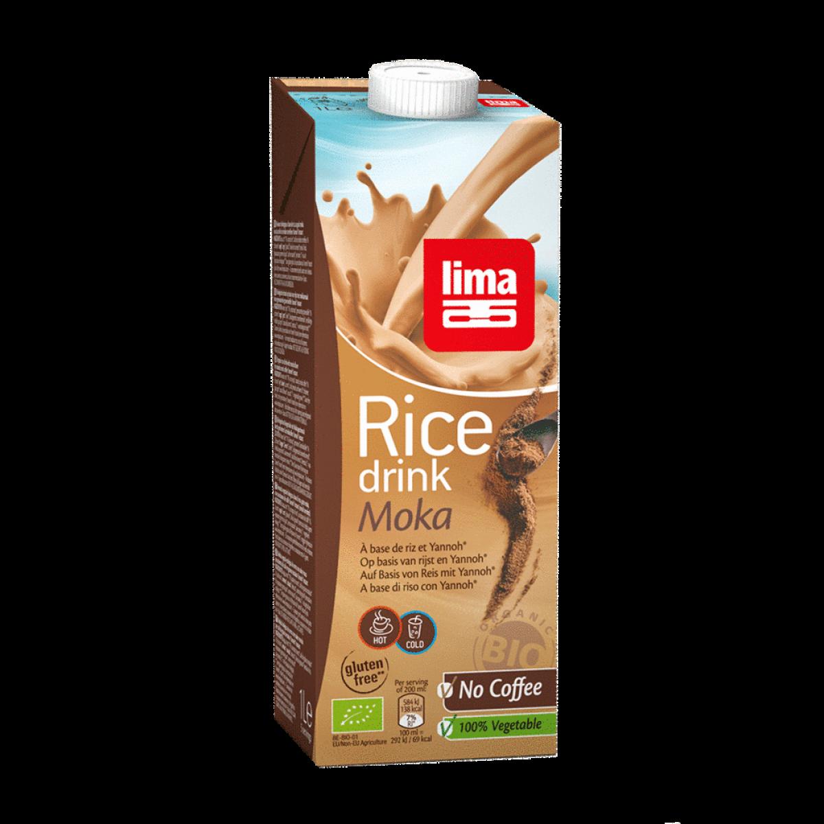 Rijstdrank Mokka 1 Liter