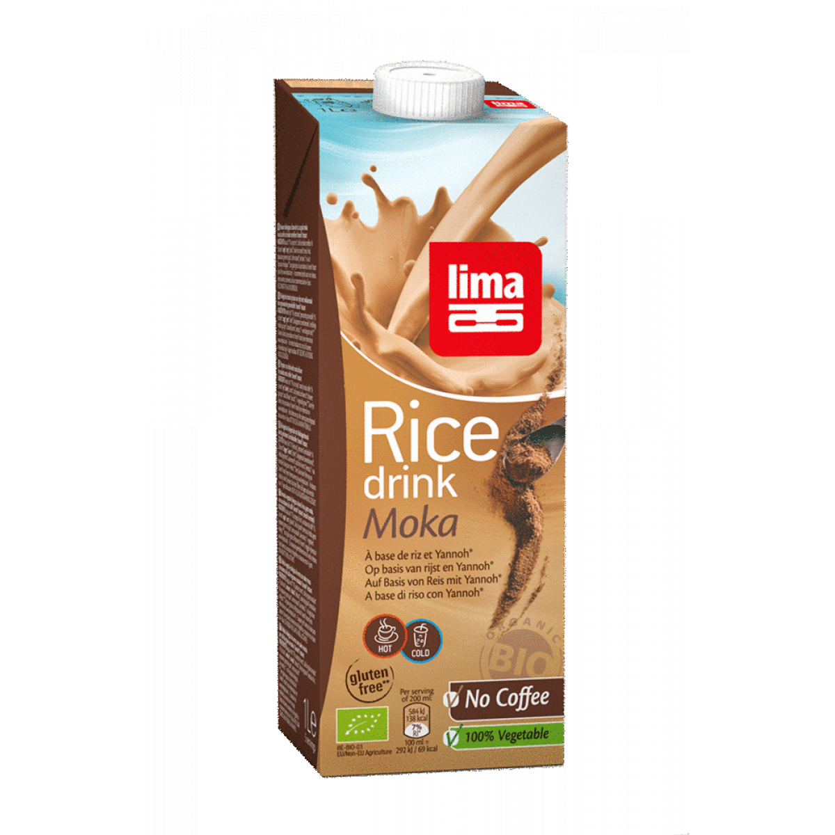 Rijstdrank Mokka 250 ml
