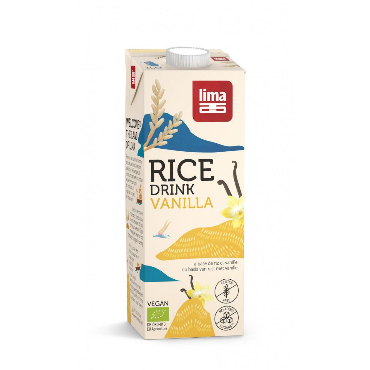 Rijstdrank Vanille