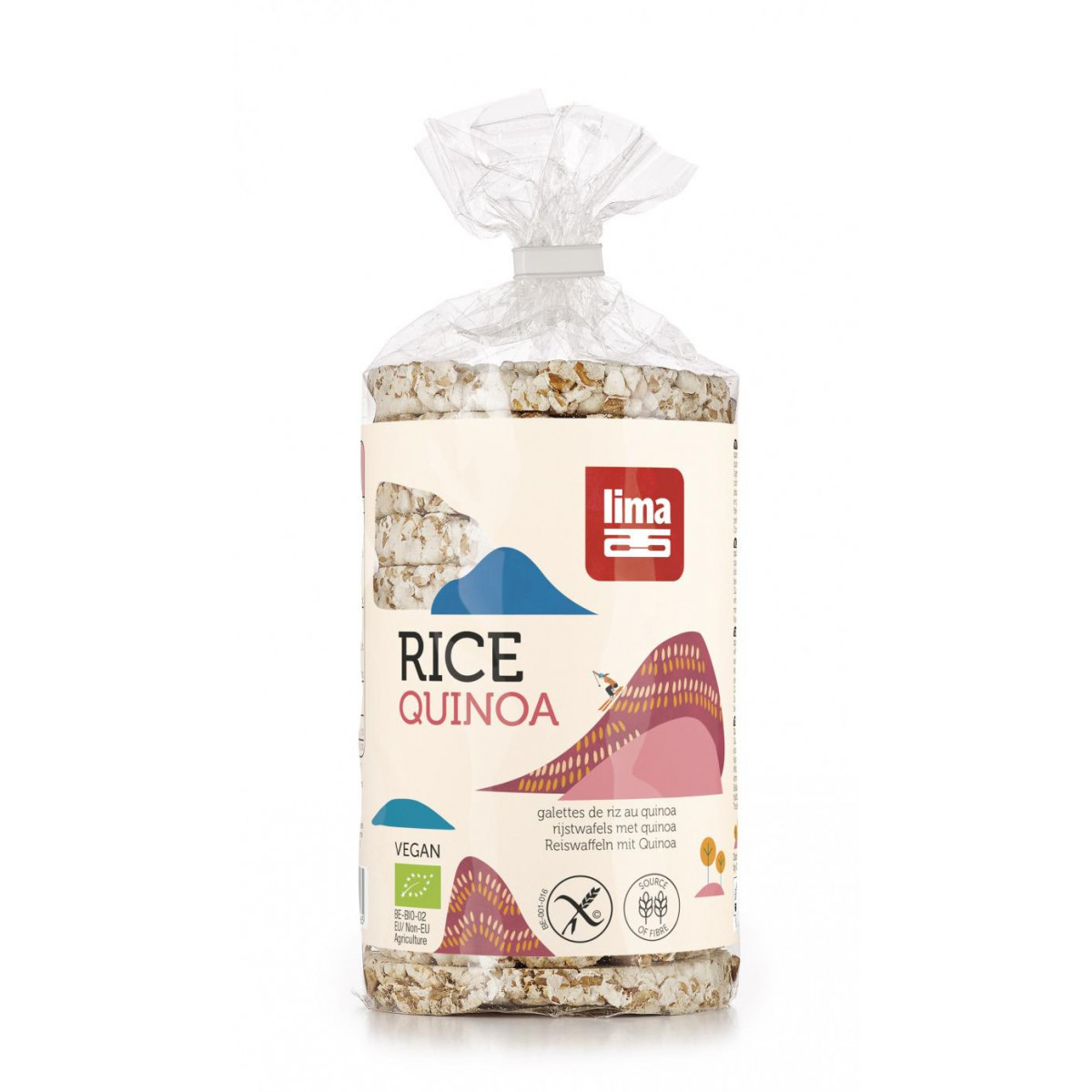 Rijstwafels Rond Met Quinoa