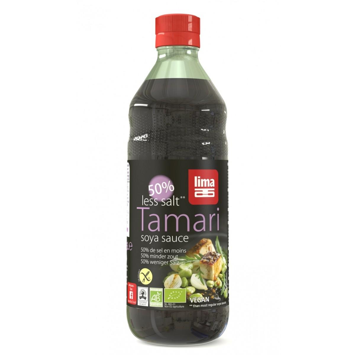 Tamari 50% Minder Zout 500ml