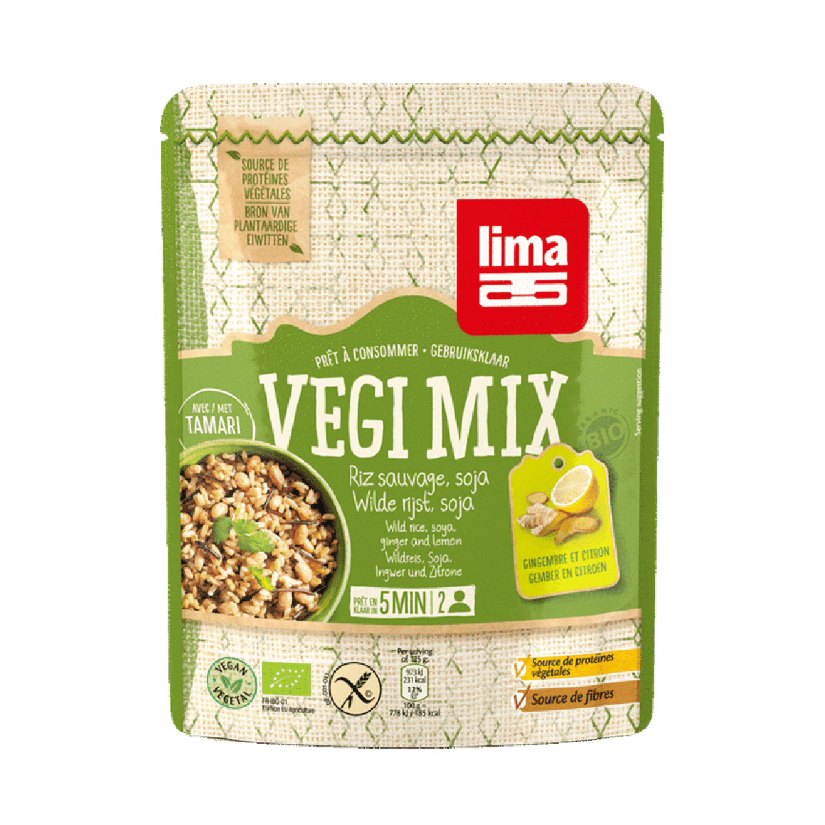 Vegi Mix Gember Wilde Rijst & Soja