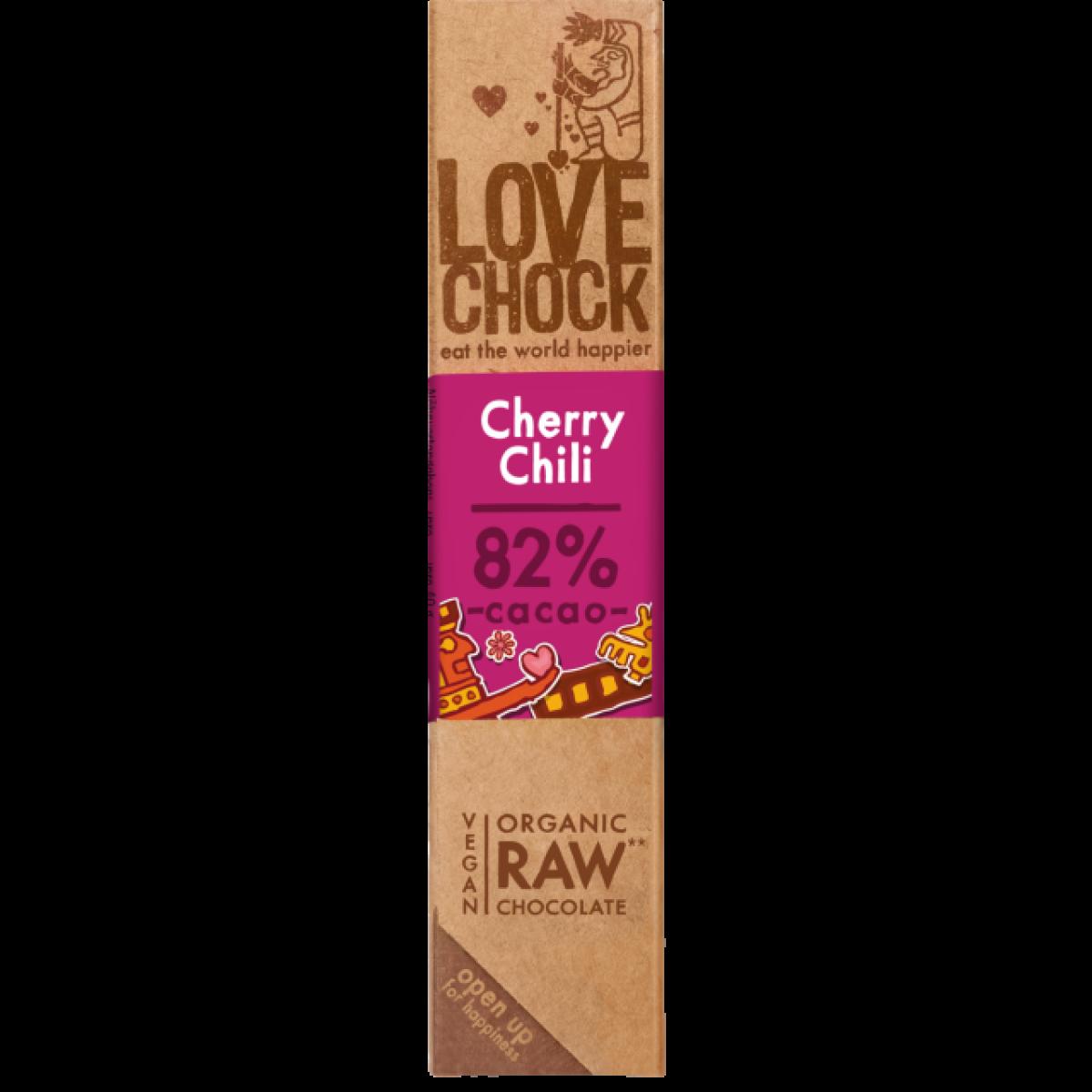 Chocoladereep Cherry/Chili