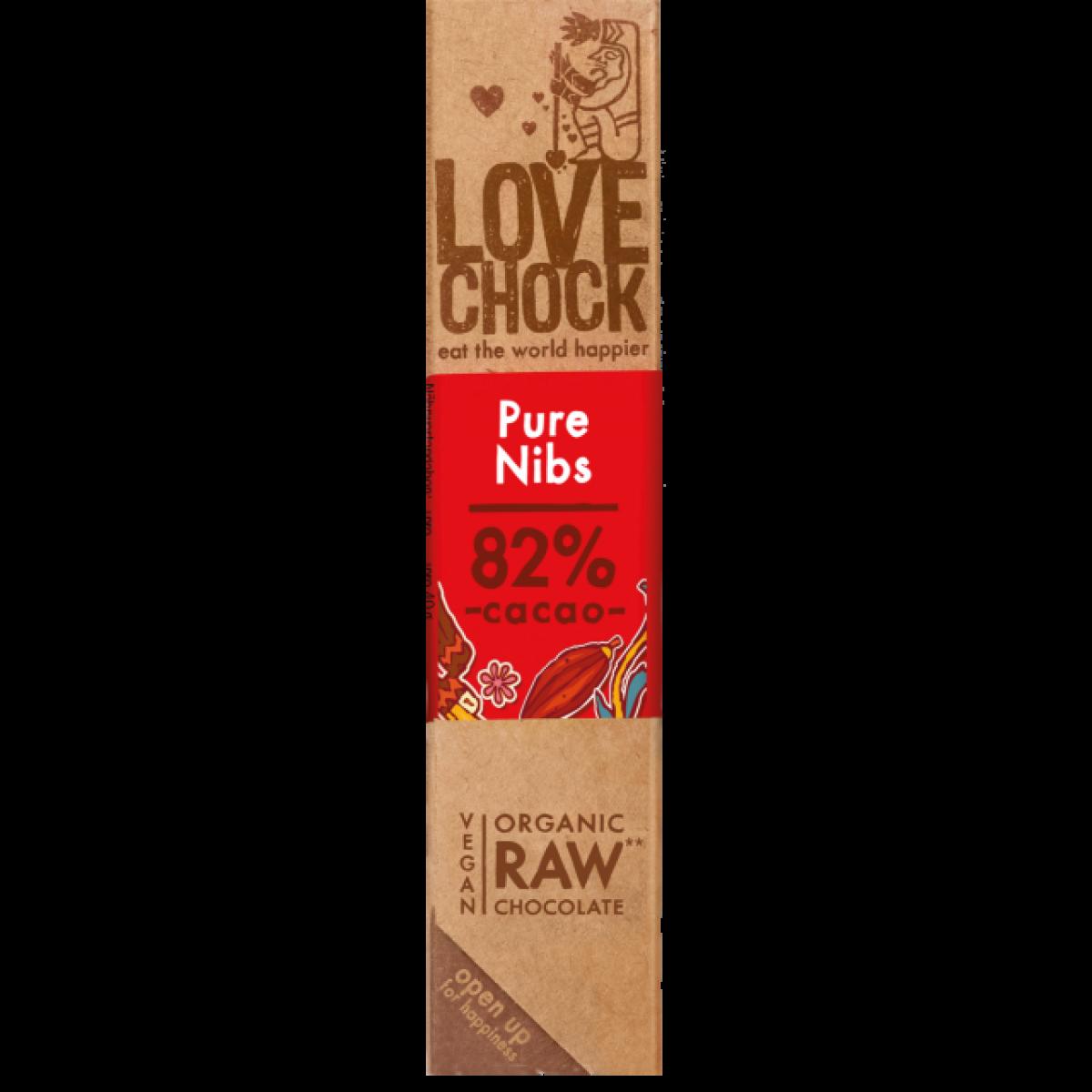 Chocoladereep Pure/Nibs