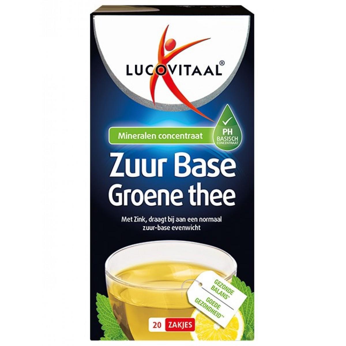 Zuur Base Groene Thee