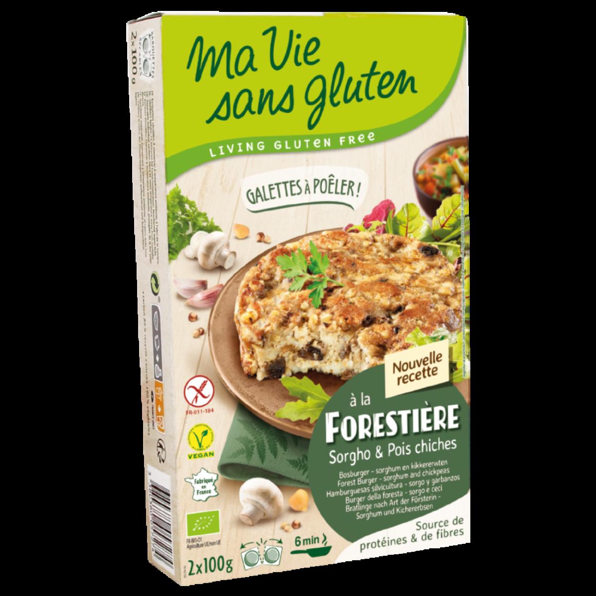 Bosburger Sorghum & Kikkererwten