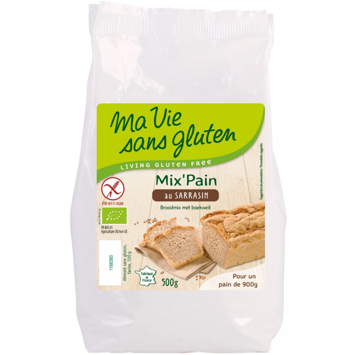 Broodmix Met Boekweitmeel