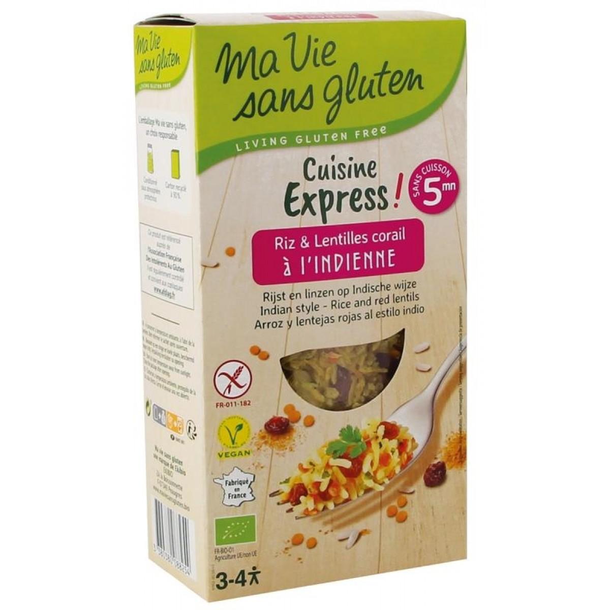 Cuisine Express Rijst & Linzen Indische Wijze