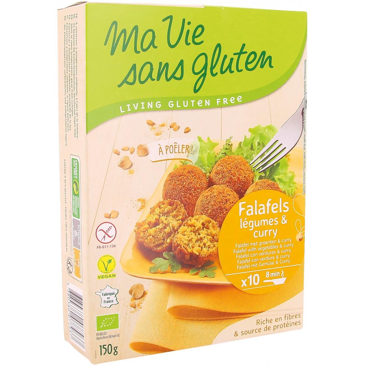 Falafel Met Groenten & Curry